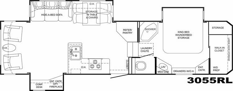 Heartland bighorn 3055rl moreover Viewlisting together with 2015 Puma 30rkss also 4330132316 Manhattan Newyork Ny in addition  on 5th wheel sofa bed