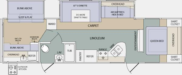 127262525511832 2011 prime time lacrosse 318bhs travel trailer piqua, oh paul Camper Trailer Wiring Diagram at gsmx.co
