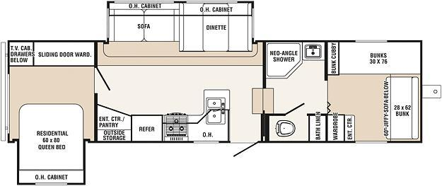 fifth wheel floor plans bunkhouse submited images fifth wheel floor plans bunkhouse submited images