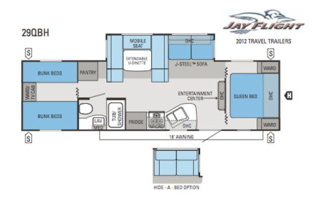 100 jayco travel trailers floor plans jayco jay feather ult