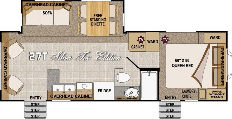 2016 arctic fox 5th floor plans trend home design and decor