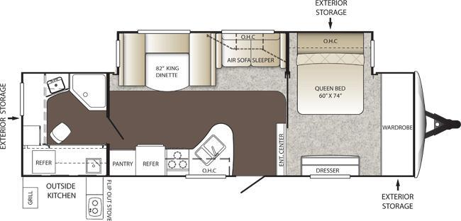 denali travel trailer floor plans modern home design and manila airport map