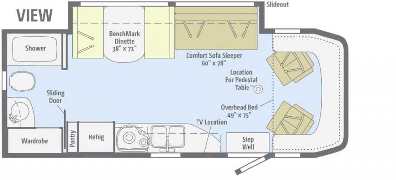 Awesome Winnebago View 24m Floor PlanViewHome Plans Ideas Picture