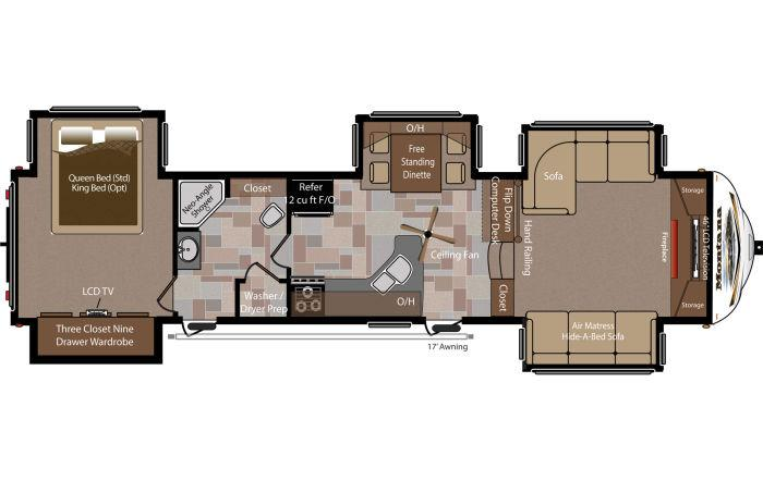 2016 montana 5th wheel floor plans trend home design and