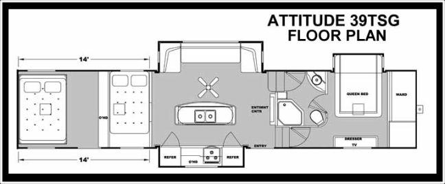 2014 Eclipse Attitude 39TSG Fifth Wheel Mesa, AZ Little Dealer