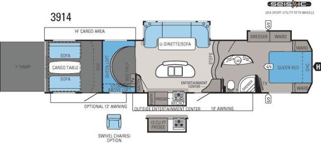2014 Jayco Seismic 3914 Fifth Wheel Phoenix Az Little Dealer