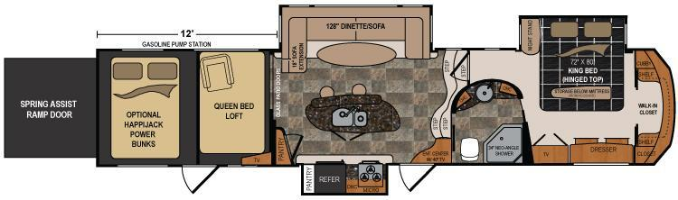 2012 Voltage Toy Hauler Floor Plans 28 Images 2011
