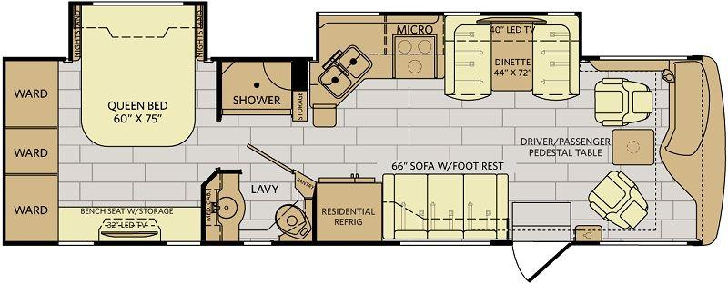 Rvs for sale search results new and used travel for 1200 post oak floor plans