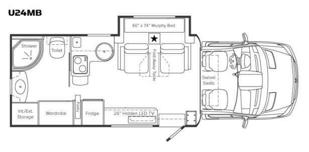 mb sprinter rv floor plans