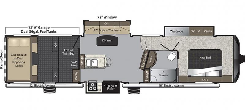 Open Road Fifth Wheel Floor Plans: RV Inventory Browse Little Dealer Little Prices Arizona RV