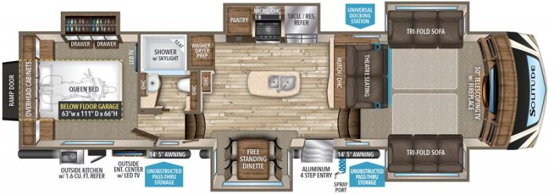 fifth wheel front living room. Floorplan RV Inventory Browse Little Dealer Prices Arizona
