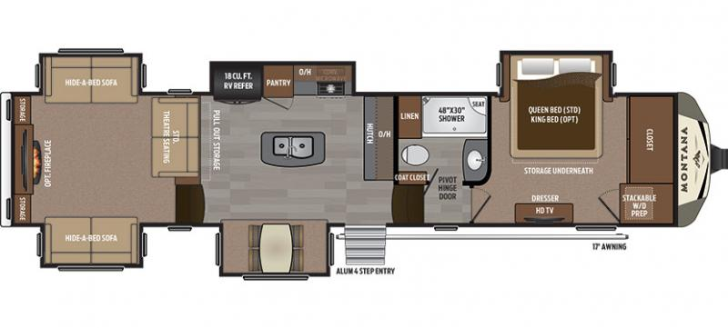 Open Road Fifth Wheel Floor Plans: Iowa And Minnesota RV Dealer