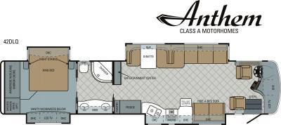 2011 Entegra Anthem 42DLQ floorplan
