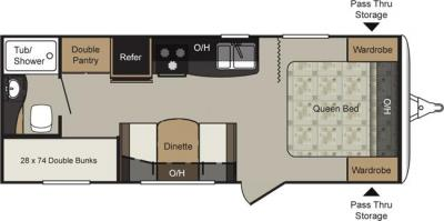 Keystone Cougar | Floorplans