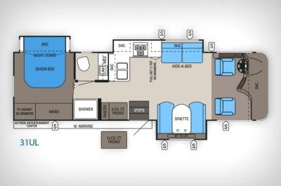 2014 Jayco Precept 31UL floorplan