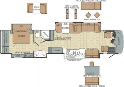 2014 Entegra Anthem 42DLQ floorplan