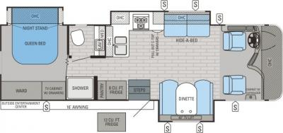 2015 Jayco Precept 31UL floorplan
