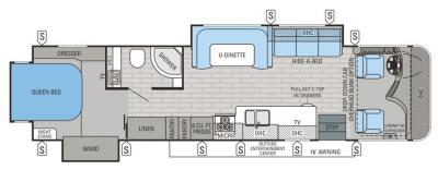 2015 Jayco Precept 35UN floorplan