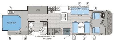 2015 Jayco Precept 35UP floorplan