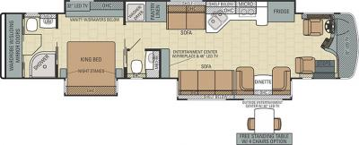 2015 Entegra Anthem 44F floorplan