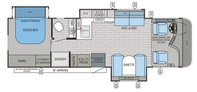 2016 Jayco Precept 31UL floorplan
