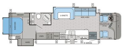 2016 Jayco Precept 35UN floorplan