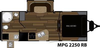 2018 Cruiser RV MPG MPG 2250RB floorplan
