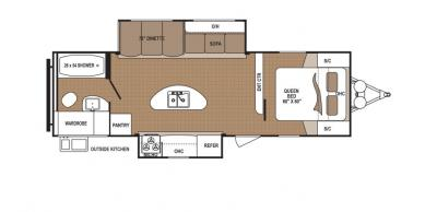 2019 Dutchmen Aspen Trail 2730RBS floorplan