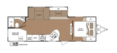 2019 Dutchmen Aspen Trail 2750BHS floorplan