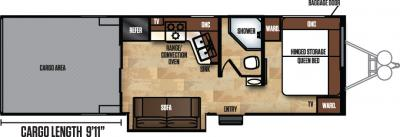 2018 Forest River Work and Play 275ULSBS floorplan