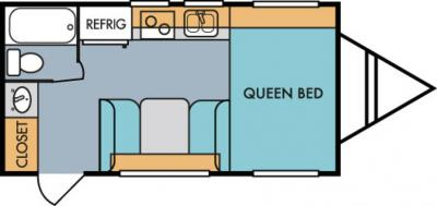 2019 Riverside RV Retro 180R floorplan
