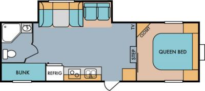 2019 Riverside RV Retro 526RB floorplan