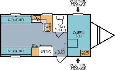 2019 Riverside RV Retro 820R floorplan