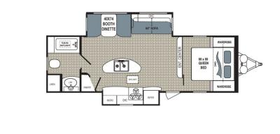 2019 Dutchmen Kodiak  279RBSL floorplan