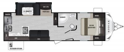 2019 Dutchmen Kodiak 287RKSL floorplan